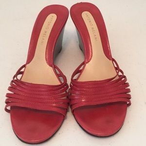 Antonio Melani slide wedge sandals